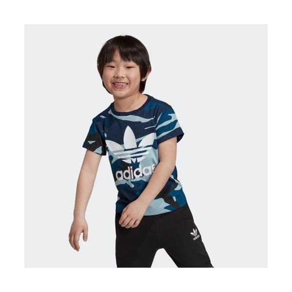 全品送料無料! 6/21 17:00〜6/27 16:59 返品可 アディダス公式 ウェア トップス adidas カモ柄Tシャツ|adidas