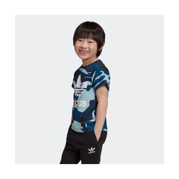 全品送料無料! 6/21 17:00〜6/27 16:59 返品可 アディダス公式 ウェア トップス adidas カモ柄Tシャツ|adidas|02