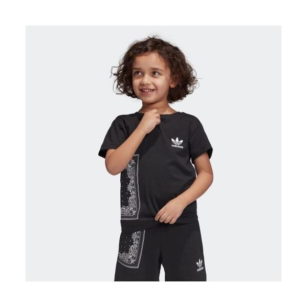 返品可 アディダス公式 ウェア トップス adidas BANDANA Tシャツ|adidas