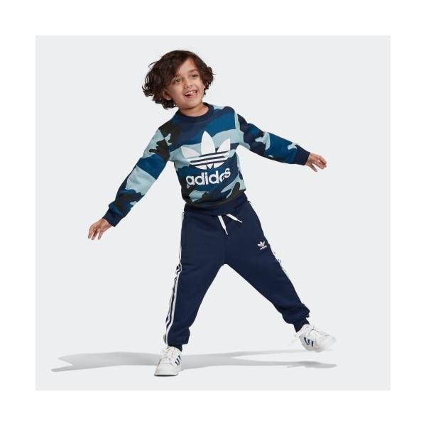 21%OFF アディダス公式 ウェア セットアップ adidas カモ柄クルーネックスウェット&スウェットパンツ 上下セット|adidas