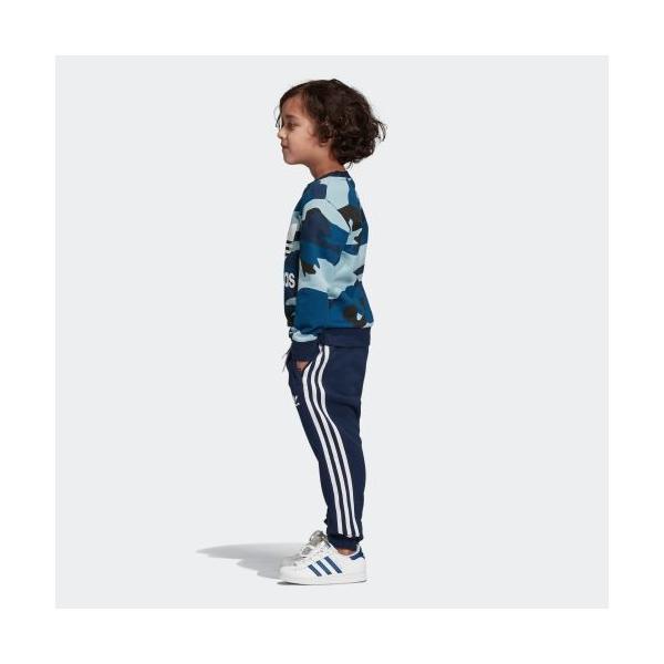 21%OFF アディダス公式 ウェア セットアップ adidas カモ柄クルーネックスウェット&スウェットパンツ 上下セット|adidas|02