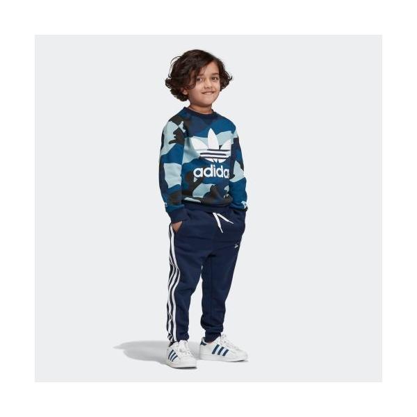 21%OFF アディダス公式 ウェア セットアップ adidas カモ柄クルーネックスウェット&スウェットパンツ 上下セット|adidas|04