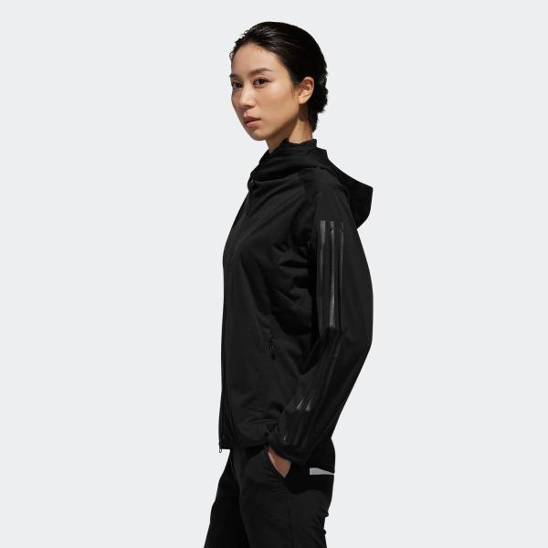 返品可 送料無料 アディダス公式 ウェア アウター adidas スリーストライプス 長袖フルジップフーディウインド 【ゴルフ】|adidas|02