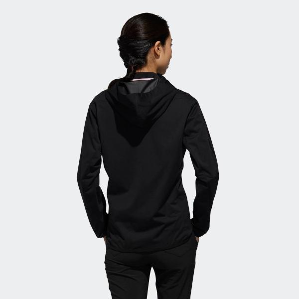 返品可 送料無料 アディダス公式 ウェア アウター adidas スリーストライプス 長袖フルジップフーディウインド 【ゴルフ】|adidas|03