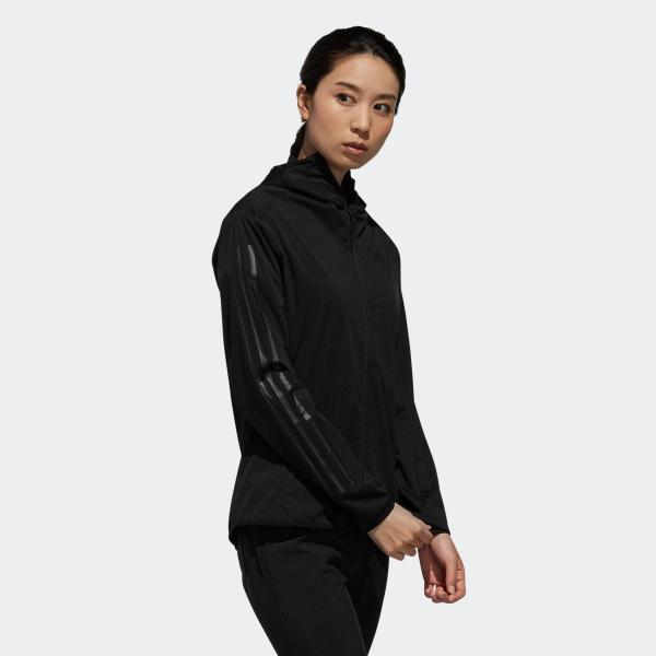 返品可 送料無料 アディダス公式 ウェア アウター adidas スリーストライプス 長袖フルジップフーディウインド 【ゴルフ】|adidas|04