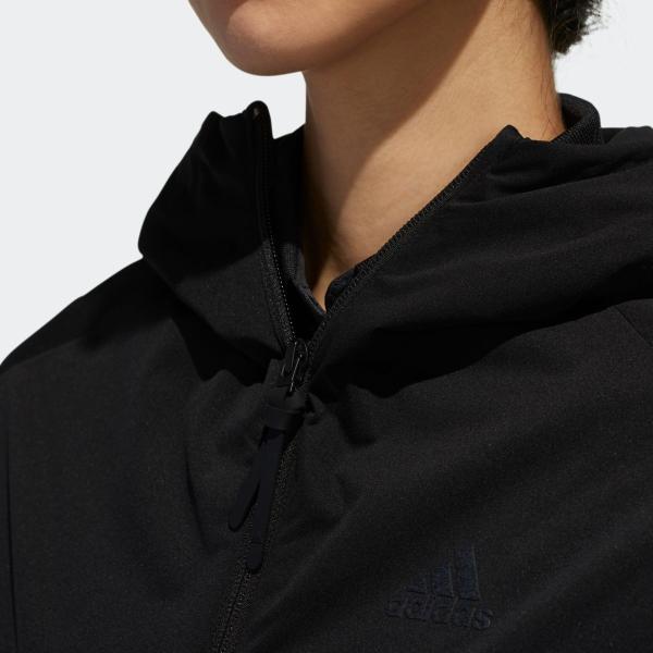 返品可 送料無料 アディダス公式 ウェア アウター adidas スリーストライプス 長袖フルジップフーディウインド 【ゴルフ】|adidas|07
