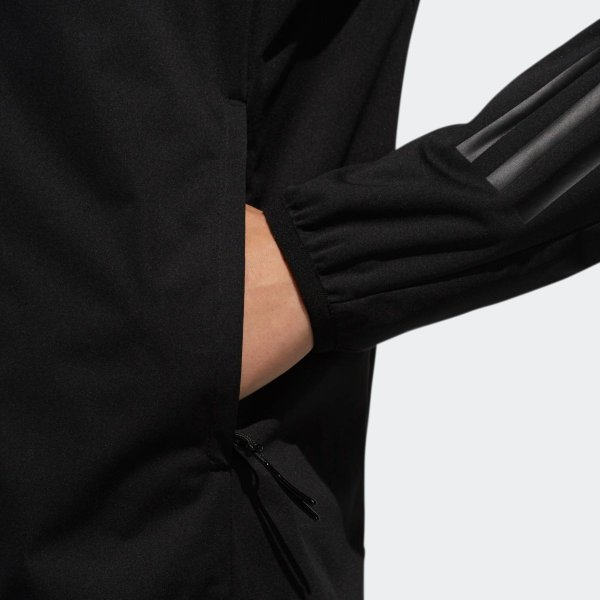 返品可 送料無料 アディダス公式 ウェア アウター adidas スリーストライプス 長袖フルジップフーディウインド 【ゴルフ】|adidas|08