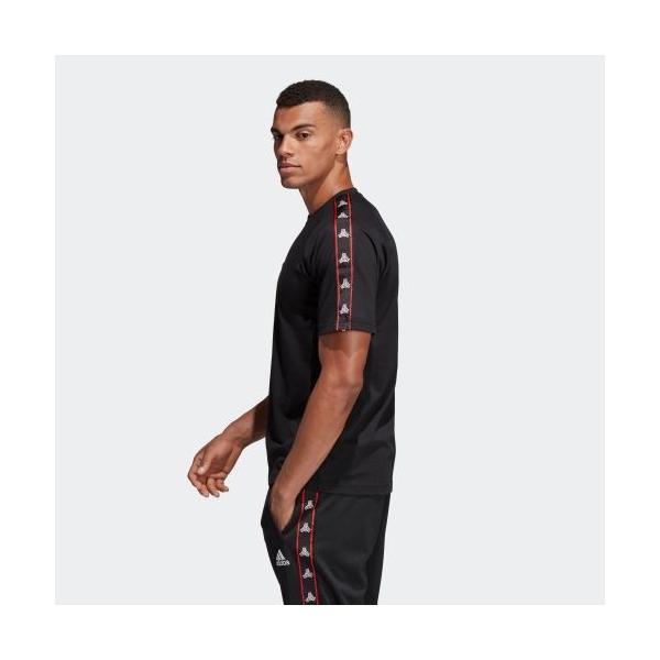 全品送料無料! 08/14 17:00〜08/22 16:59 セール価格 アディダス公式 ウェア トップス adidas TANGO STREET テープTシャツ adidas 02