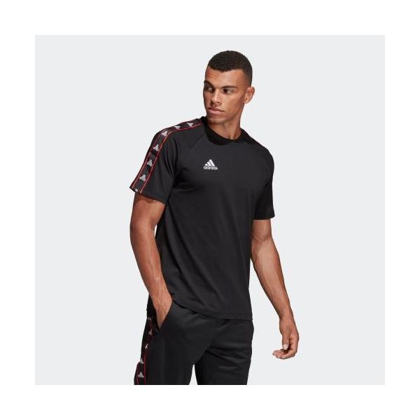 全品送料無料! 08/14 17:00〜08/22 16:59 セール価格 アディダス公式 ウェア トップス adidas TANGO STREET テープTシャツ adidas 04