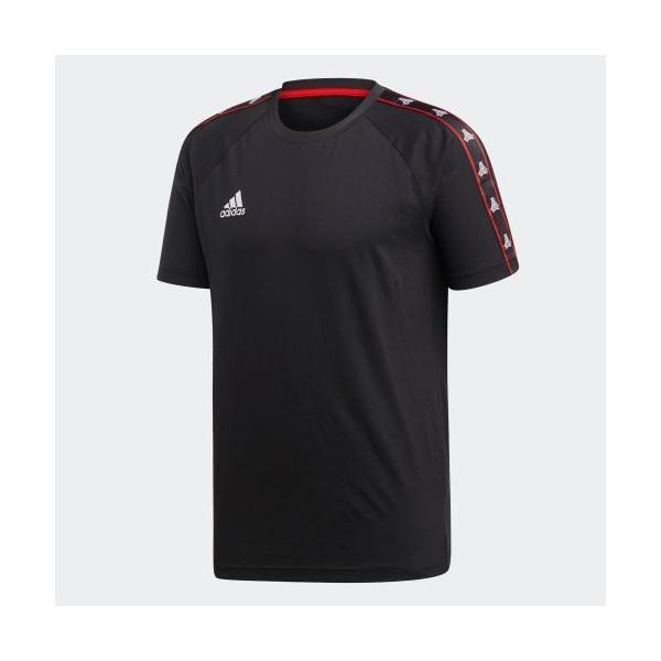 全品送料無料! 08/14 17:00〜08/22 16:59 セール価格 アディダス公式 ウェア トップス adidas TANGO STREET テープTシャツ adidas 05