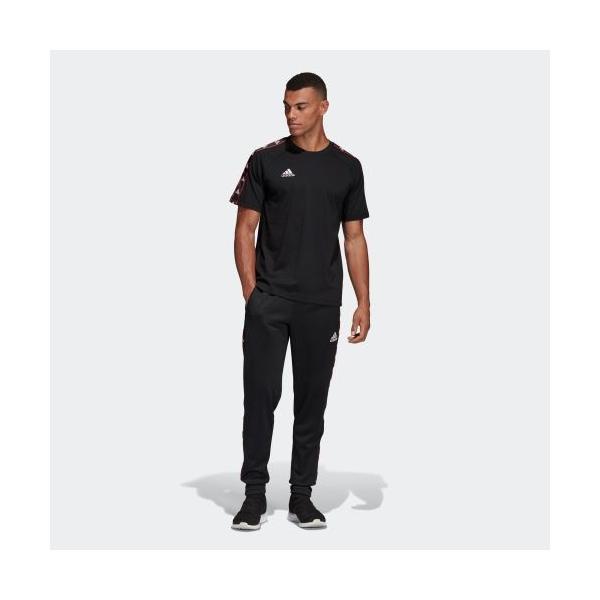 全品送料無料! 08/14 17:00〜08/22 16:59 セール価格 アディダス公式 ウェア トップス adidas TANGO STREET テープTシャツ adidas 07