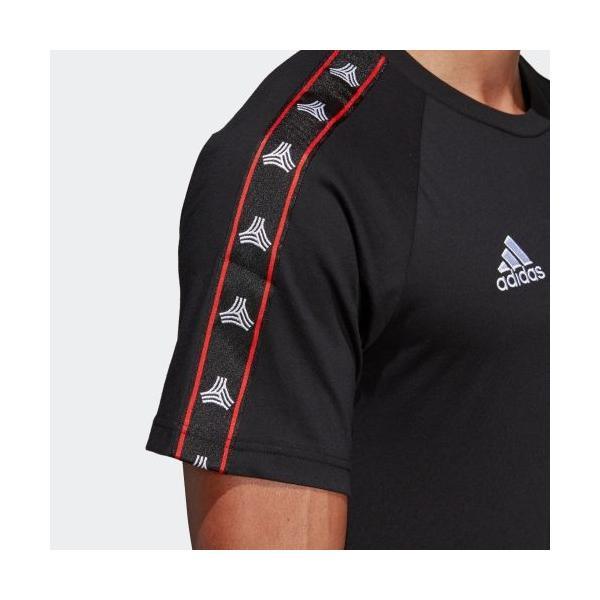 全品送料無料! 08/14 17:00〜08/22 16:59 セール価格 アディダス公式 ウェア トップス adidas TANGO STREET テープTシャツ adidas 09