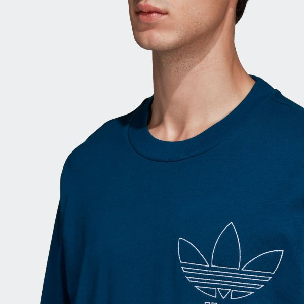 返品可 アディダス公式 ウェア トップス adidas OUTLINE TEE|adidas|08