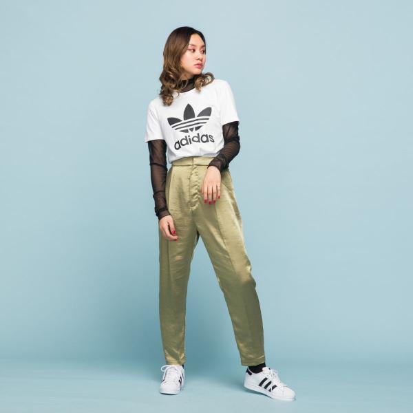 全品ポイント15倍 07/19 17:00〜07/22 16:59 返品可 アディダス公式 ウェア トップス adidas トレフォイル 半袖Tシャツ / Trefoil Tee|adidas|02