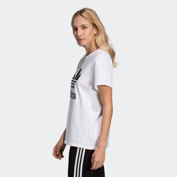 全品ポイント15倍 07/19 17:00〜07/22 16:59 返品可 アディダス公式 ウェア トップス adidas トレフォイル 半袖Tシャツ / Trefoil Tee|adidas|04