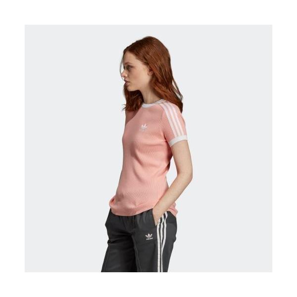 返品可 送料無料 アディダス公式 ウェア トップス adidas 3 STRIPES TEE|adidas|02