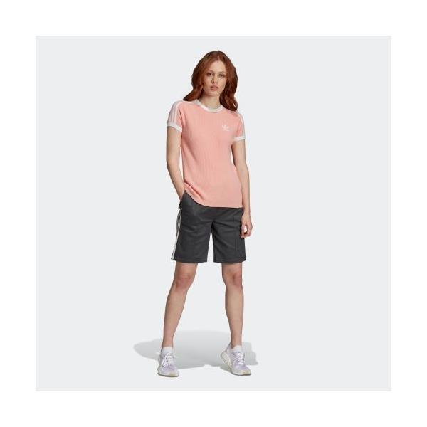 返品可 送料無料 アディダス公式 ウェア トップス adidas 3 STRIPES TEE|adidas|07