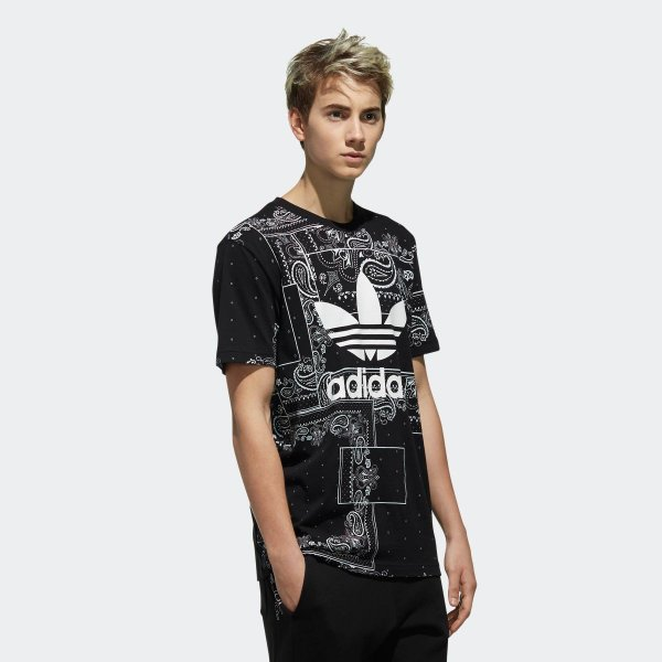 セール価格 アディダス公式 ウェア トップス adidas BANDANA Tシャツ adidas 04