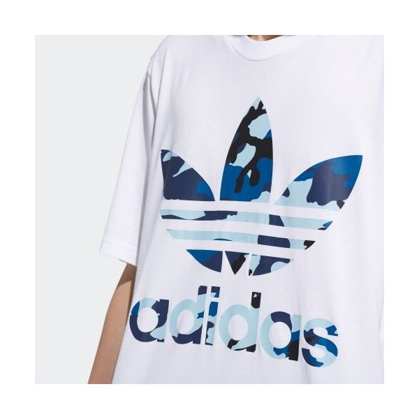 全品ポイント15倍 07/19 17:00〜07/22 16:59 セール価格 アディダス公式 ウェア トップス adidas CAMO OS TEE|adidas|08