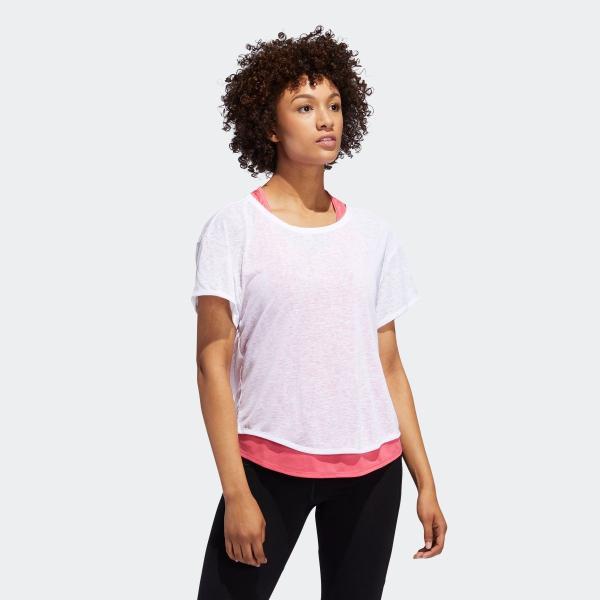 全品送料無料! 08/14 17:00〜08/22 16:59 返品可 アディダス公式 ウェア トップス adidas ADAPT 2in1 TシャツW|adidas