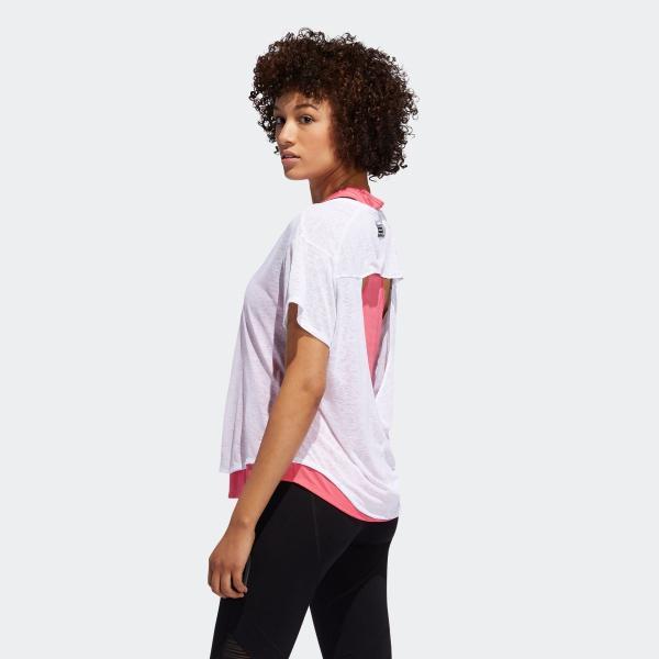 全品送料無料! 08/14 17:00〜08/22 16:59 返品可 アディダス公式 ウェア トップス adidas ADAPT 2in1 TシャツW|adidas|02