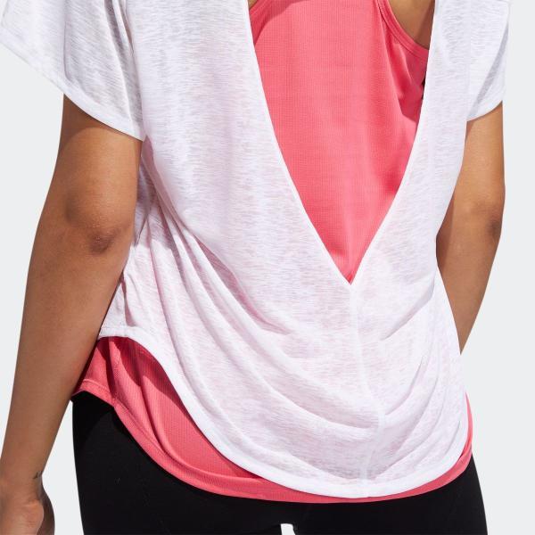 全品送料無料! 08/14 17:00〜08/22 16:59 返品可 アディダス公式 ウェア トップス adidas ADAPT 2in1 TシャツW|adidas|08