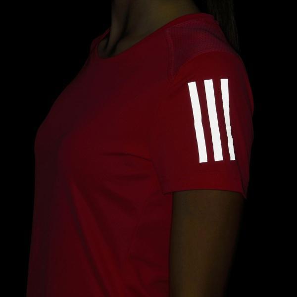 全品送料無料! 08/14 17:00〜08/22 16:59 返品可 アディダス公式 ウェア トップス adidas オウン ザ ラン Tシャツ W|adidas|09