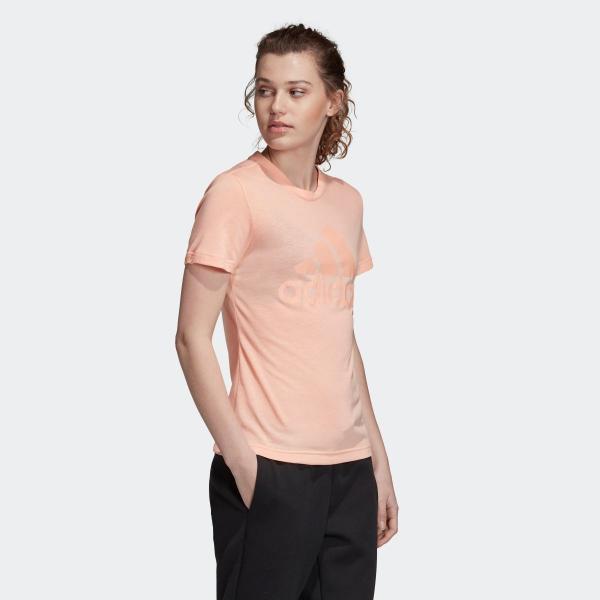 返品可 アディダス公式 ウェア トップス adidas W MH エンボス レギュラー Tシャツ adidas 04