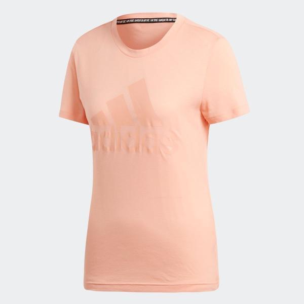 返品可 アディダス公式 ウェア トップス adidas W MH エンボス レギュラー Tシャツ adidas 05