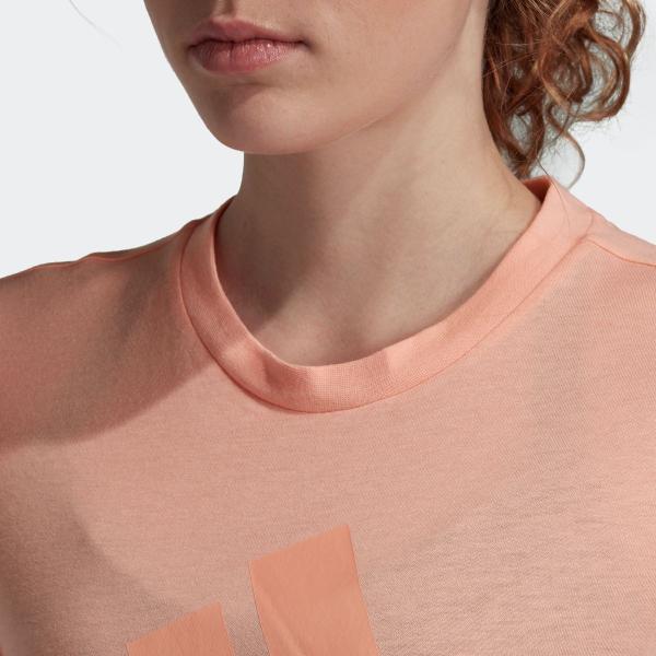 返品可 アディダス公式 ウェア トップス adidas W MH エンボス レギュラー Tシャツ adidas 07