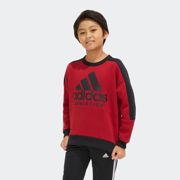 返品可 アディダス公式 ウェア トップス adidas B SPORT ID スウェットクルーネック (裏起毛)|adidas