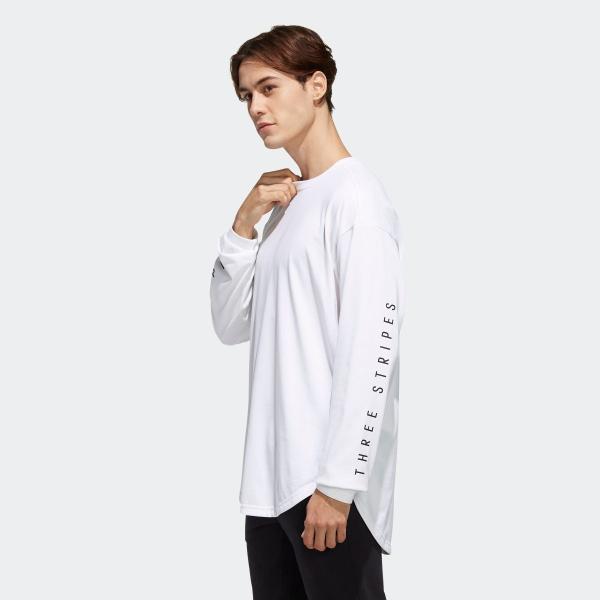 返品可 アディダス公式 ウェア トップス adidas M S2S ビッグワーディング長袖Tシャツ|adidas|02