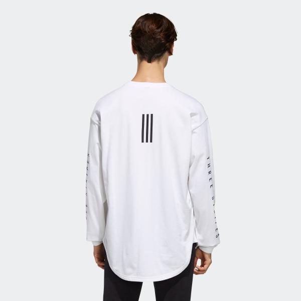 返品可 アディダス公式 ウェア トップス adidas M S2S ビッグワーディング長袖Tシャツ|adidas|03