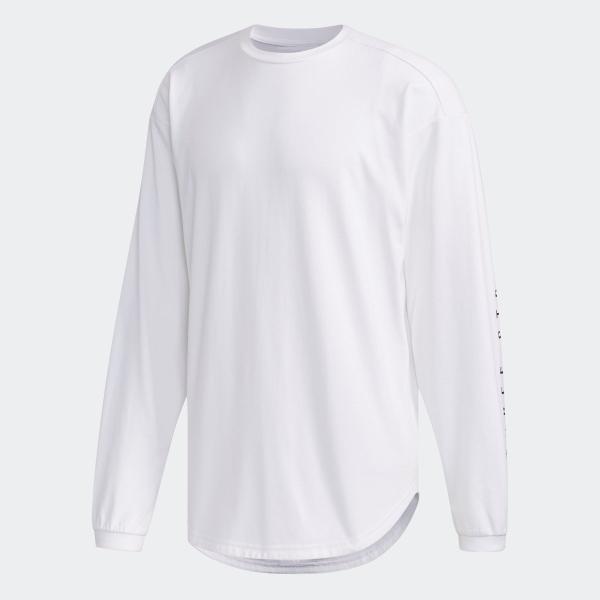 返品可 アディダス公式 ウェア トップス adidas M S2S ビッグワーディング長袖Tシャツ|adidas|05