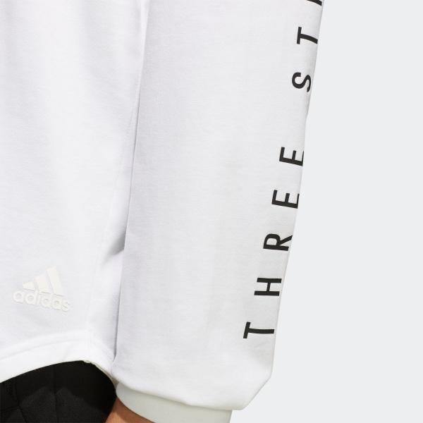 返品可 アディダス公式 ウェア トップス adidas M S2S ビッグワーディング長袖Tシャツ|adidas|07