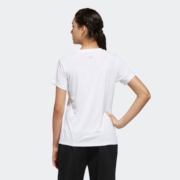 返品可 アディダス公式 ウェア トップス adidas W M4T メッセージプリントTシャツ|adidas|03