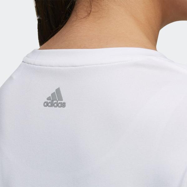 返品可 アディダス公式 ウェア トップス adidas W M4T メッセージプリントTシャツ|adidas|08