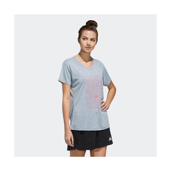 返品可 アディダス公式 ウェア トップス adidas W M4T メッセージプリントTシャツ|adidas|04