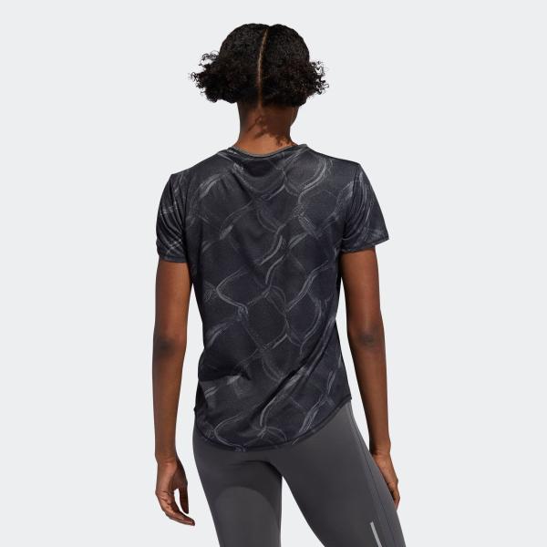 全品送料無料! 08/14 17:00〜08/22 16:59 返品可 アディダス公式 ウェア トップス adidas オウン ザ ラン AOP TシャツW|adidas|03