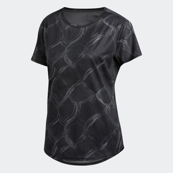 全品送料無料! 08/14 17:00〜08/22 16:59 返品可 アディダス公式 ウェア トップス adidas オウン ザ ラン AOP TシャツW|adidas|05