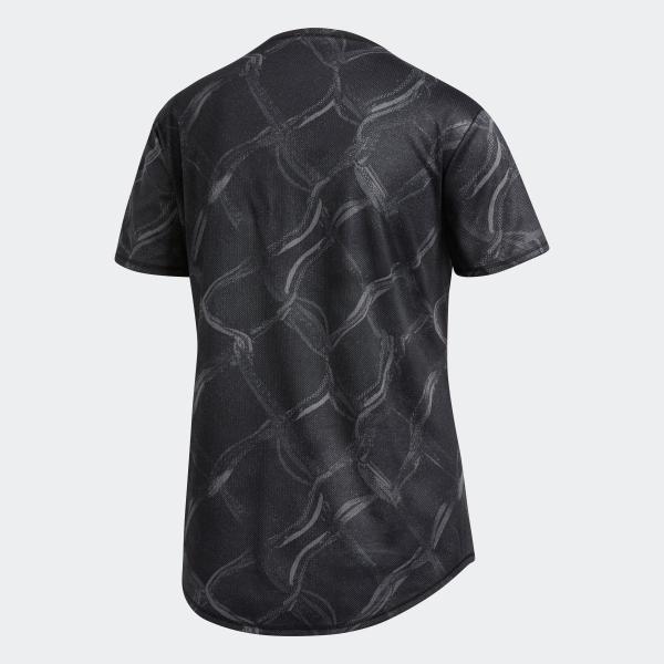 全品送料無料! 08/14 17:00〜08/22 16:59 返品可 アディダス公式 ウェア トップス adidas オウン ザ ラン AOP TシャツW|adidas|06