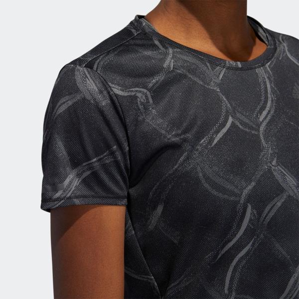 全品送料無料! 08/14 17:00〜08/22 16:59 返品可 アディダス公式 ウェア トップス adidas オウン ザ ラン AOP TシャツW|adidas|07