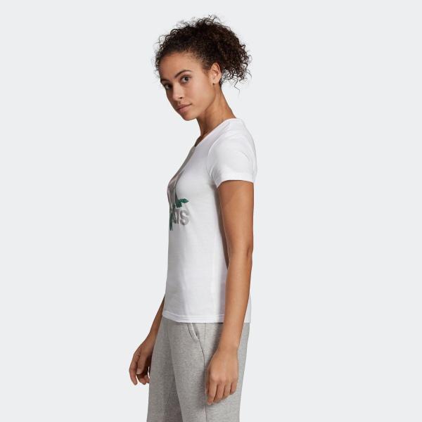 33%OFF アディダス公式 ウェア トップス adidas W MH ビッグロゴ フラワー Tシャツ adidas 02