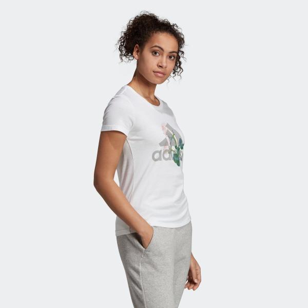 33%OFF アディダス公式 ウェア トップス adidas W MH ビッグロゴ フラワー Tシャツ adidas 04
