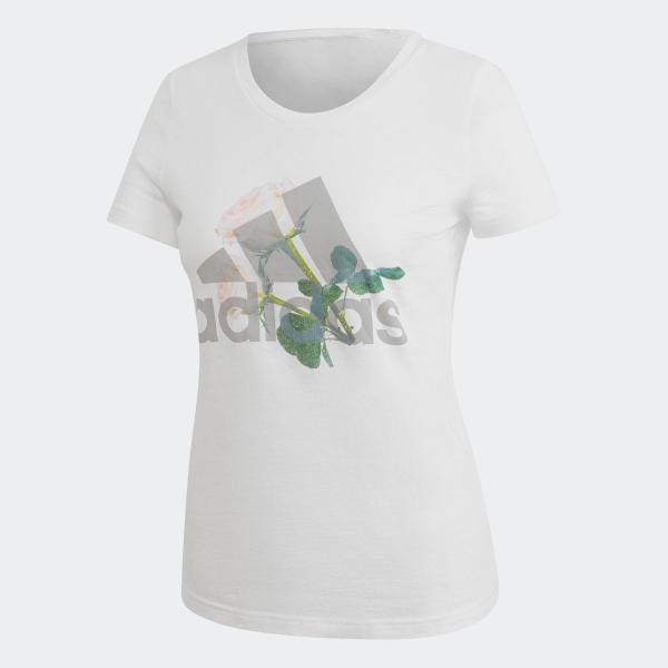 33%OFF アディダス公式 ウェア トップス adidas W MH ビッグロゴ フラワー Tシャツ adidas 05