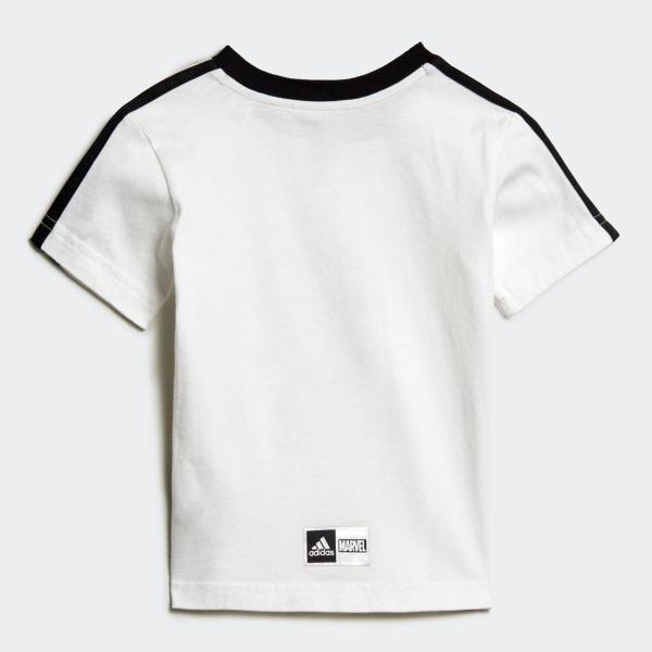 返品可 アディダス公式 ウェア セットアップ adidas I MARVEL スパイダーマン Tシャツ&ハーフパンツ上下セット|adidas|03