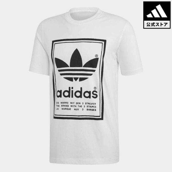全品ポイント15倍 07/19 17:00〜07/22 16:59 返品可 アディダス公式 ウェア トップス adidas VINTAGE TEE|adidas