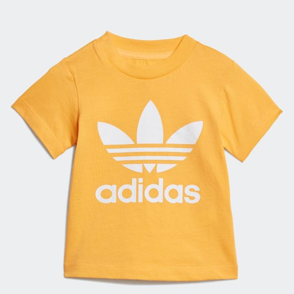 全品送料無料! 08/14 17:00〜08/22 16:59 返品可 アディダス公式 ウェア トップス adidas トレフォイルTシャツ adidas