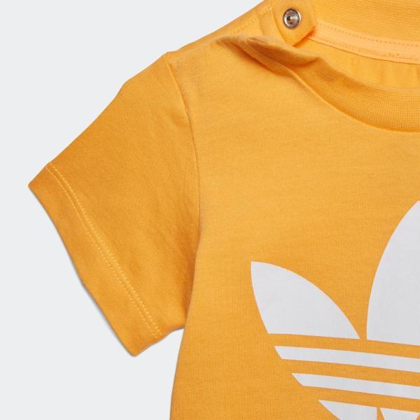 全品送料無料! 08/14 17:00〜08/22 16:59 返品可 アディダス公式 ウェア トップス adidas トレフォイルTシャツ adidas 04