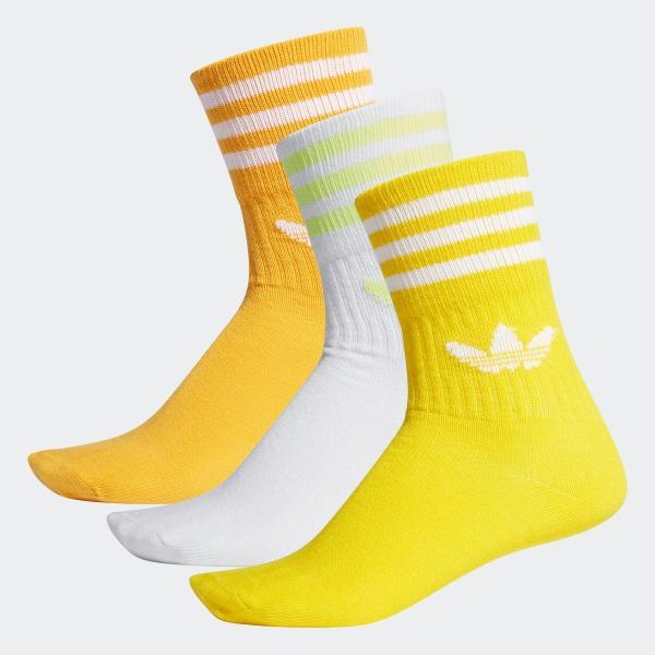 返品可 アディダス公式 アクセサリー ソックス adidas オリジナルス ソックス3足組 adidas